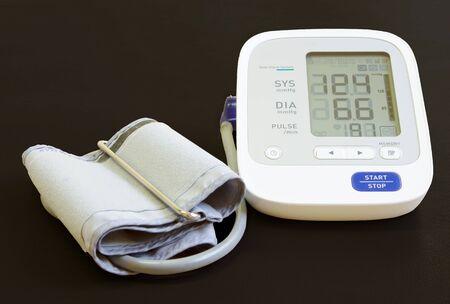 Digital blood pressure meter   photo