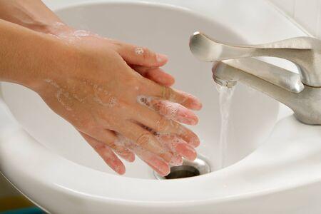 El lavado de manos con jab�n