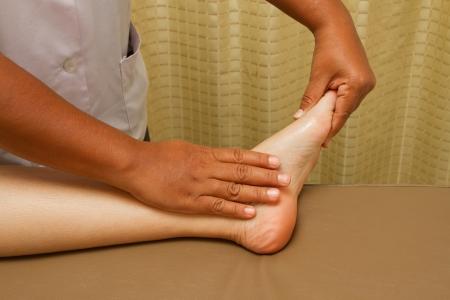 restore energy flow: reflexology foot massage, foot spa treatment