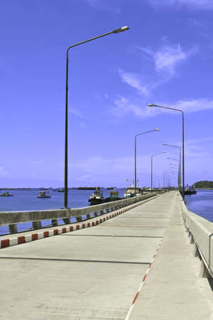 path way of Koh Sichang harbor, Chonburi province, Thailand Stock Photo - 15884743