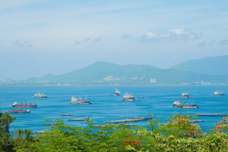 View point of Koh Sichang, Chonburi province, Thailand Stock Photo - 15884685