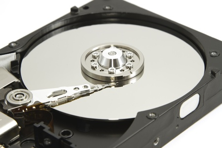 data recovery: Hard disk drive inside for data recovery