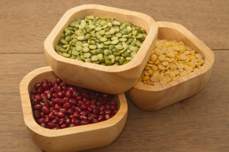 azuki bean: Different kinds of bean,soy bean ,mung bean and azuki bean
