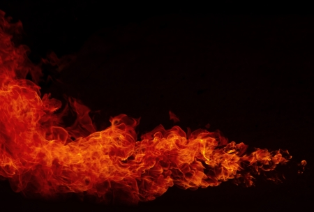 Fire explosion , Blaze Fire flames  background Stock Photo