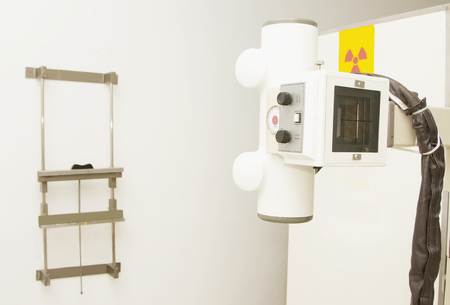 portable x-ray machine Stock Photo