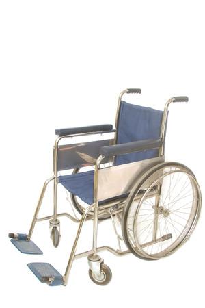 medicine wheel: wheel chair on white background