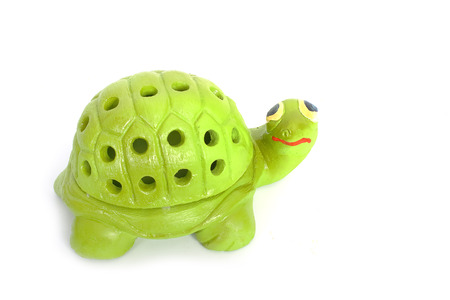 Mosquito repellent , The turtle shape container of mosquito coil photo