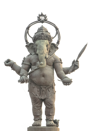 Ganesha, Hindu God statue photo
