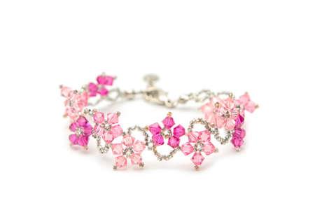 beautiful crystal bracelet photo