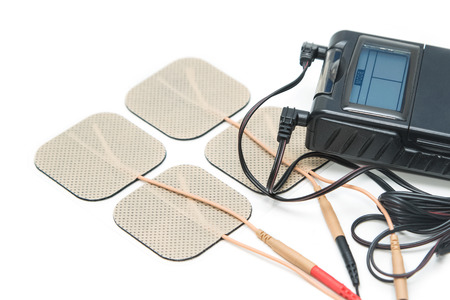 stimulator: Tens Unit ,Medical equipment for Physical therapy Stock Photo