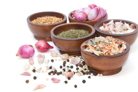 flavorings: fresh and dries spices and flavorings