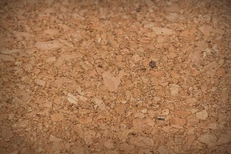 bulletins: brown cork texture pattern and background Stock Photo