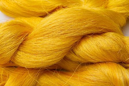 silk thread: Colorful raw silk thread
