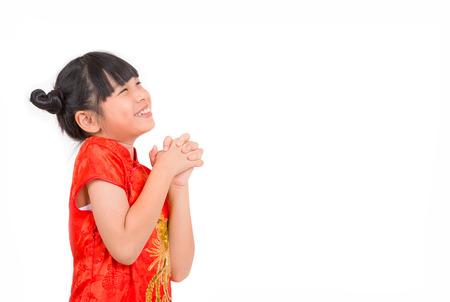 Orientalische Mädchen Wünschen Ihnen Ein Frohes Chinesisches Neujahr ...
