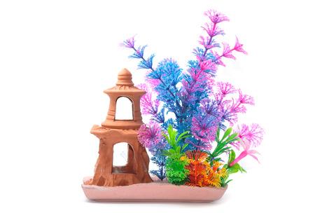 Artifical plastic water plants for aquarium decoration fish tank