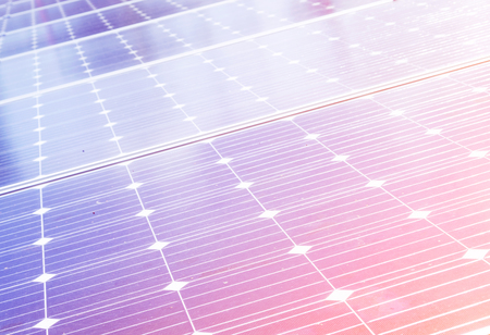 Closeup solar panel surface background