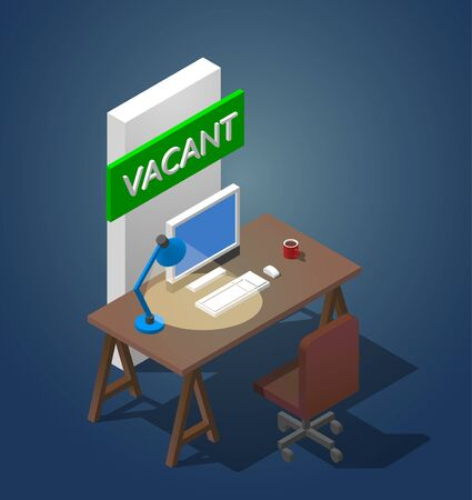 Job vacancy concept.