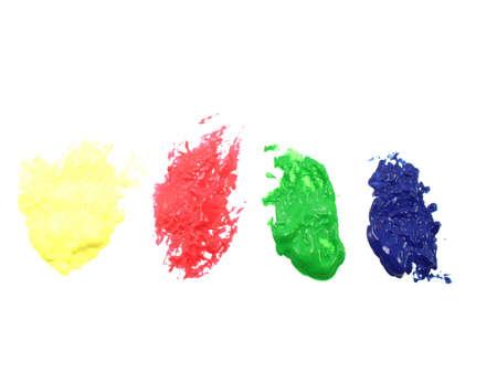 YRGB macchie di vernice