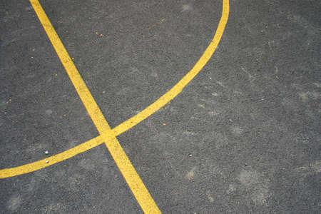 street basket, dettaglio sulle linee Archivio Fotografico