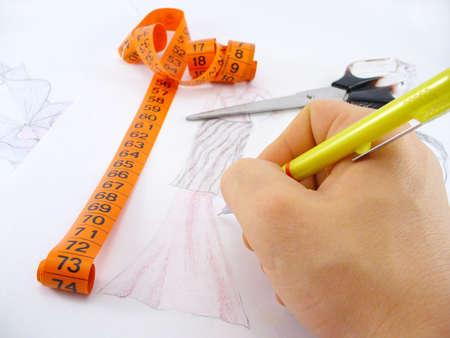 tabella del lavoro di un progettista di modo