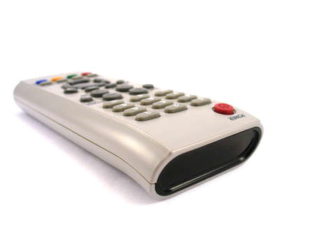tv remote controle isolated on white