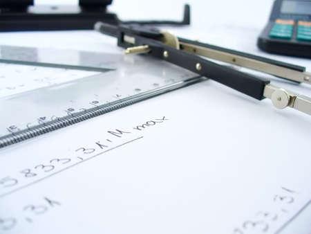 business work table Stock Photo