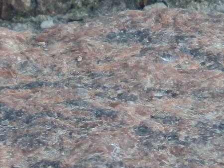 granite stone macro Stock Photo