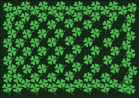 stpatrick: st.patrick background green cloverleaf