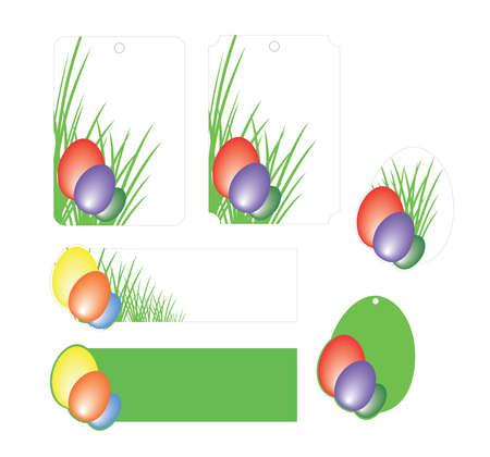 easter eggs label