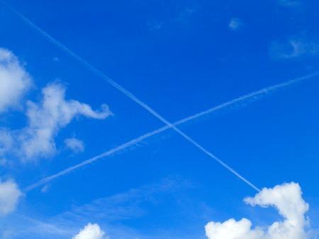 X on the sky