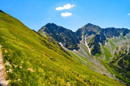 beautiful landscape in mountain Zapadne Tatry