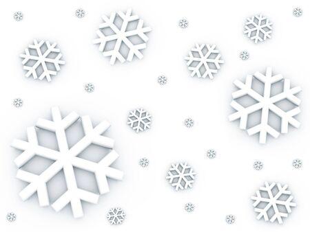 snow falling: Neve caduta modello Archivio Fotografico