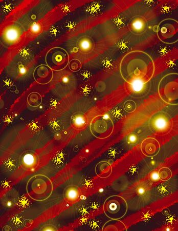 Christmas Wrapping Paper Design Stock Photo