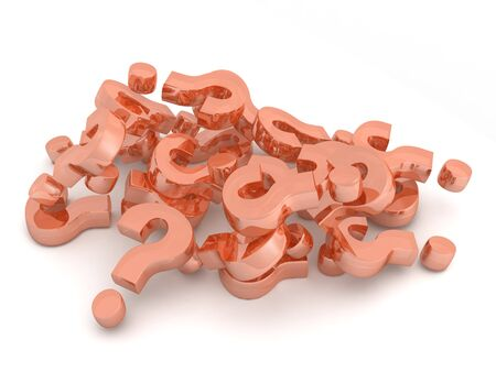 questioner: A pile of questions marks