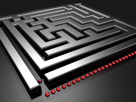 bonanza: Line up to challenge the maze