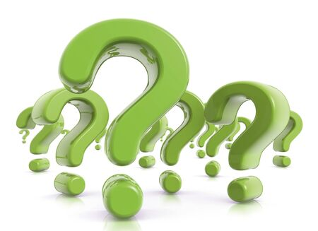 questioner: Question Marks Green
