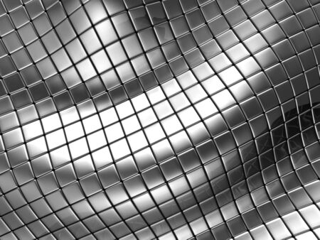Abstract silver steel background with reflection 3d illustration illustration