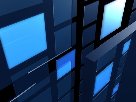 Light box transparent background 3d illustration illustration
