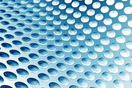 Blue abstract dot pattern background 3d illustration illustration