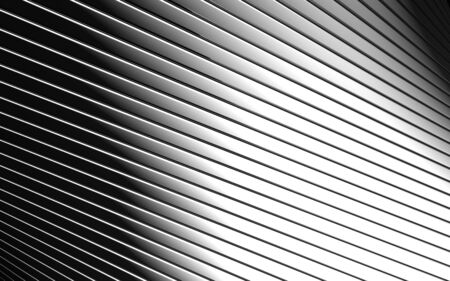 reiteration: Abstract aluminum line pattern background 3d illustration