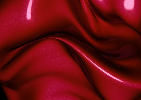 Abstract red metalic luxury background 3d illustration Stock Illustration - 6611524