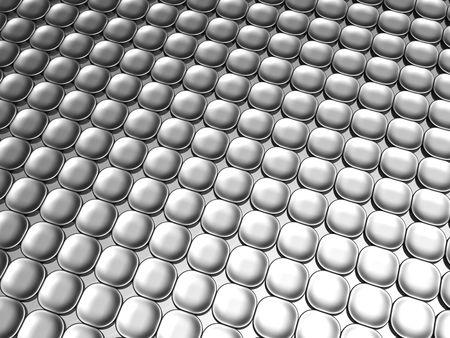 Aluminum luxury contemporary pattern background 3d illustration Stock Illustration - 6694762