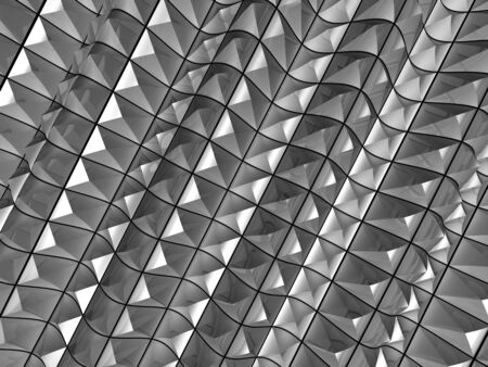 glisten: Metal glisten effect pattern background 3d illustration Stock Photo