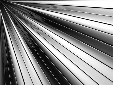 reiteration: Abstract silver aluminium stripe background 3d illustration