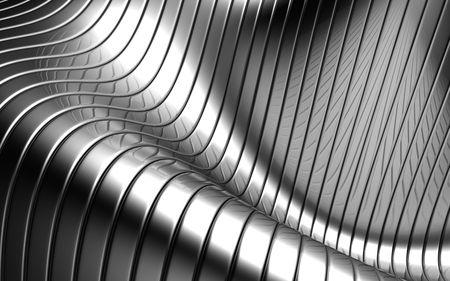 acier: Illustration 3d en aluminium abstraite r�partition argent motif arri�re-plan