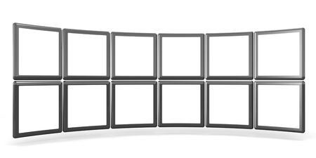 Photos display in frame select  white space alpha to add your photo Stock Photo