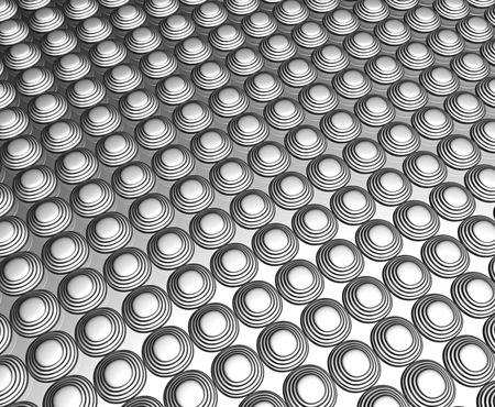 Silver dots pattern background 3d illustration illustration