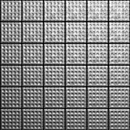 Aluminum textured tile background 3d illustration Stock Illustration - 7696038