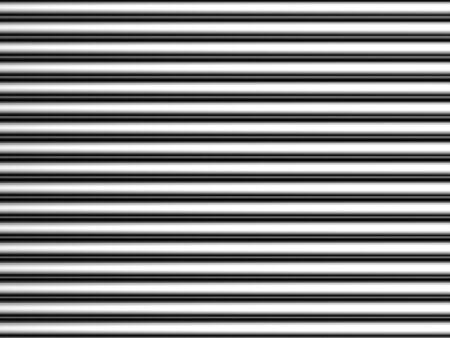 Aluminum silver simple stripe background 3d illustration Stock Illustration - 7696034