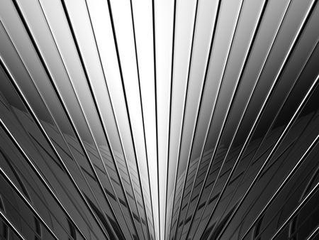 Aluminum stripe pattern background 3d illustration Stock Illustration - 7744103